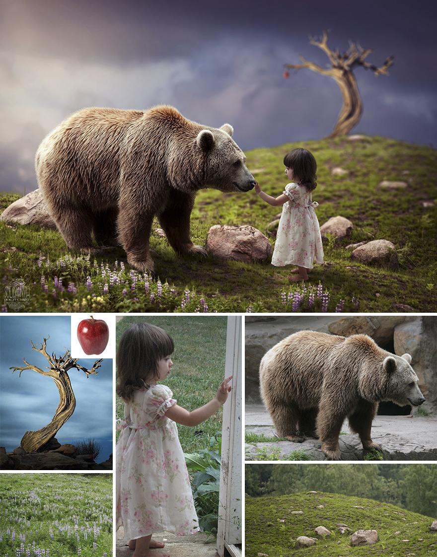 Photoshop composition, manipulation master skills - 1