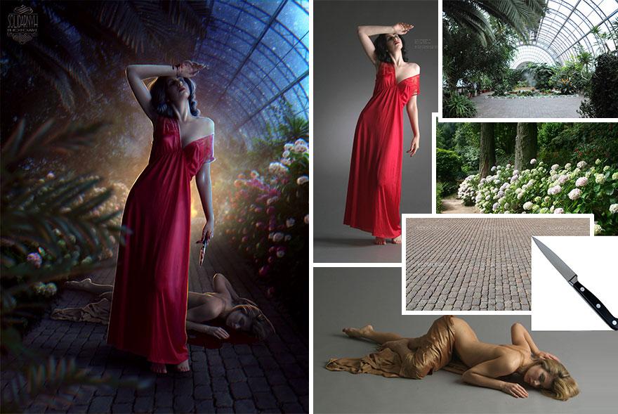 Photoshop composition, manipulation master skills - 10
