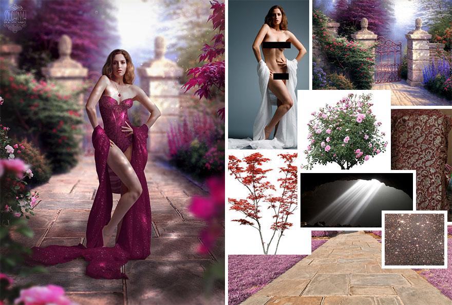 Photoshop composition, manipulation master skills - 11
