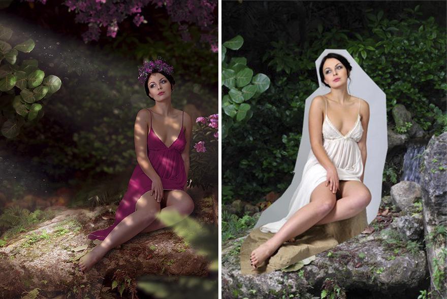Photoshop composition, manipulation master skills - 12