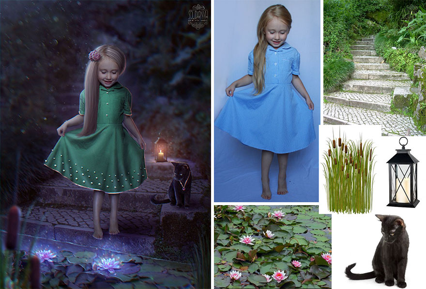 Photoshop composition, manipulation master skills - 14