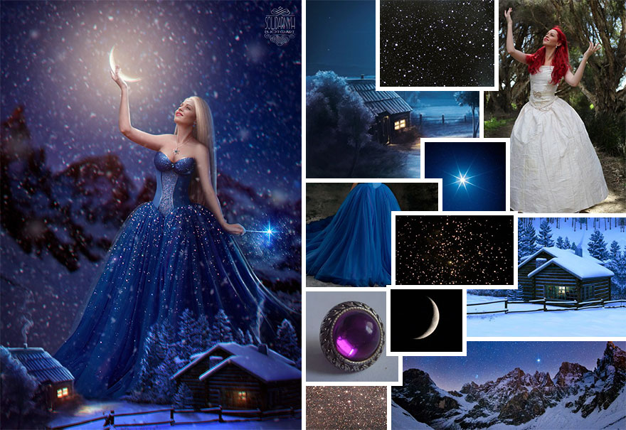 Photoshop composition, manipulation master skills - 15