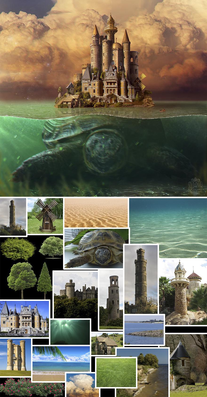 Photoshop composition, manipulation master skills - 16