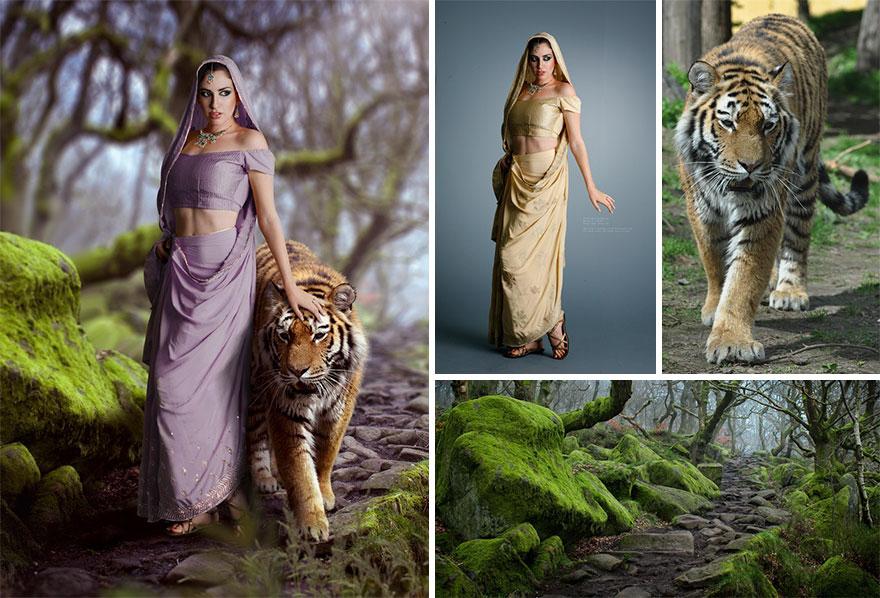 Photoshop composition, manipulation master skills - 2