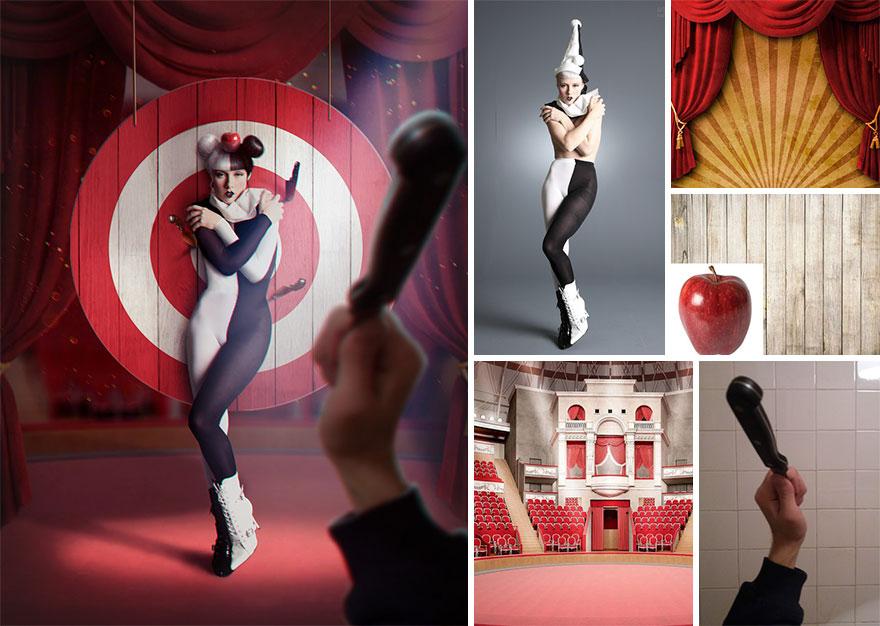 Photoshop composition, manipulation master skills - 3