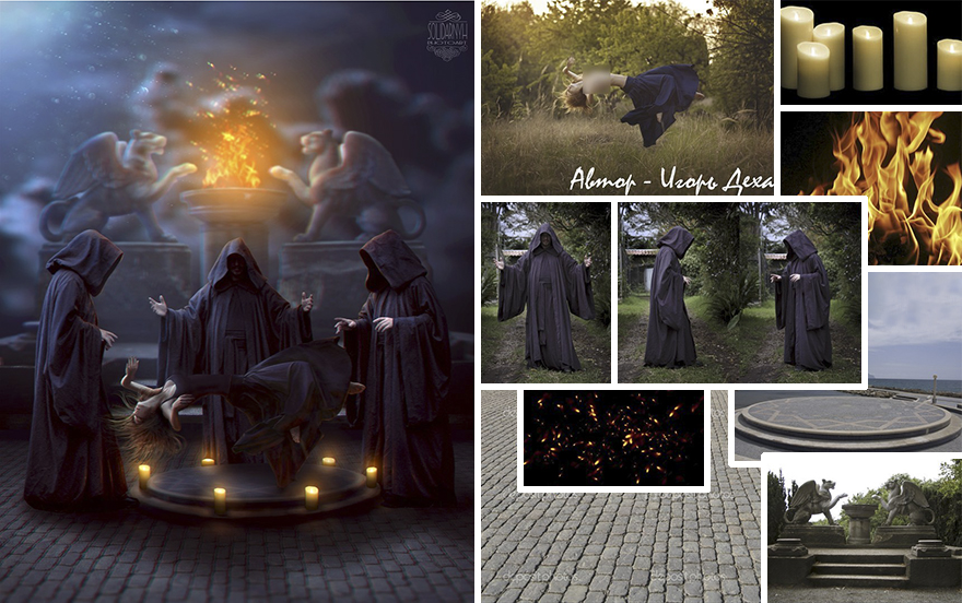 Photoshop composition, manipulation master skills - 5