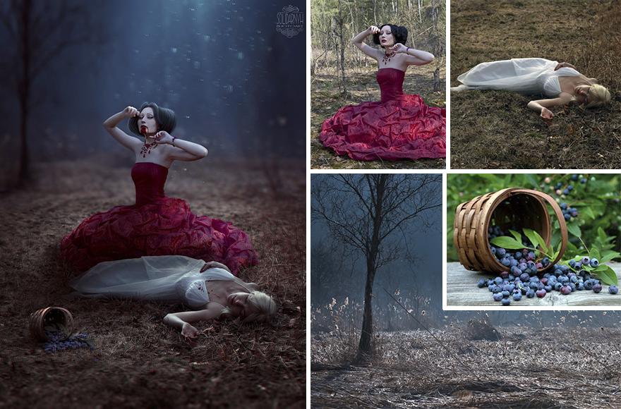 Photoshop composition, manipulation master skills - 6