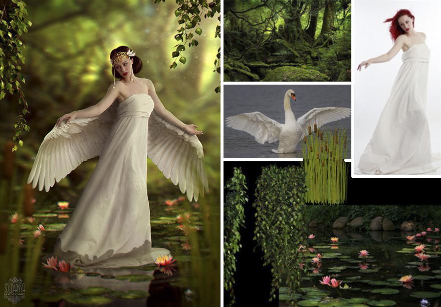 Photoshop composition, manipulation master skills - 7
