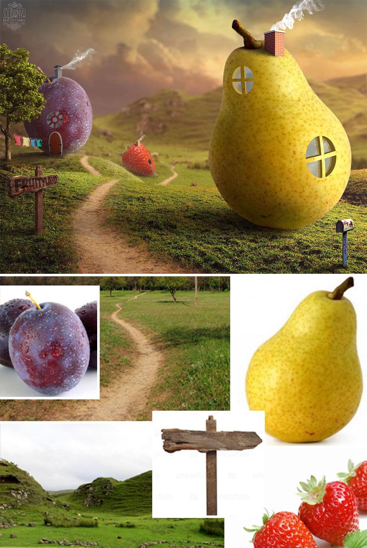 Photoshop composition, manipulation master skills - 8