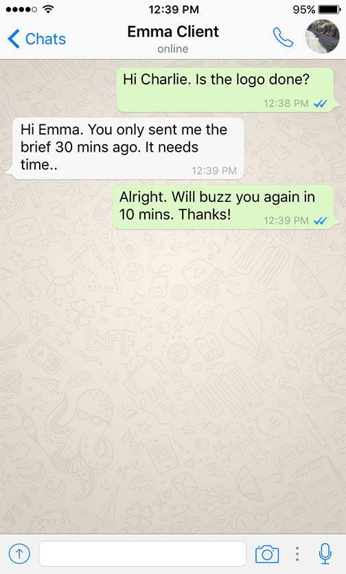 Client - Designer WhatsApp conversations - 7