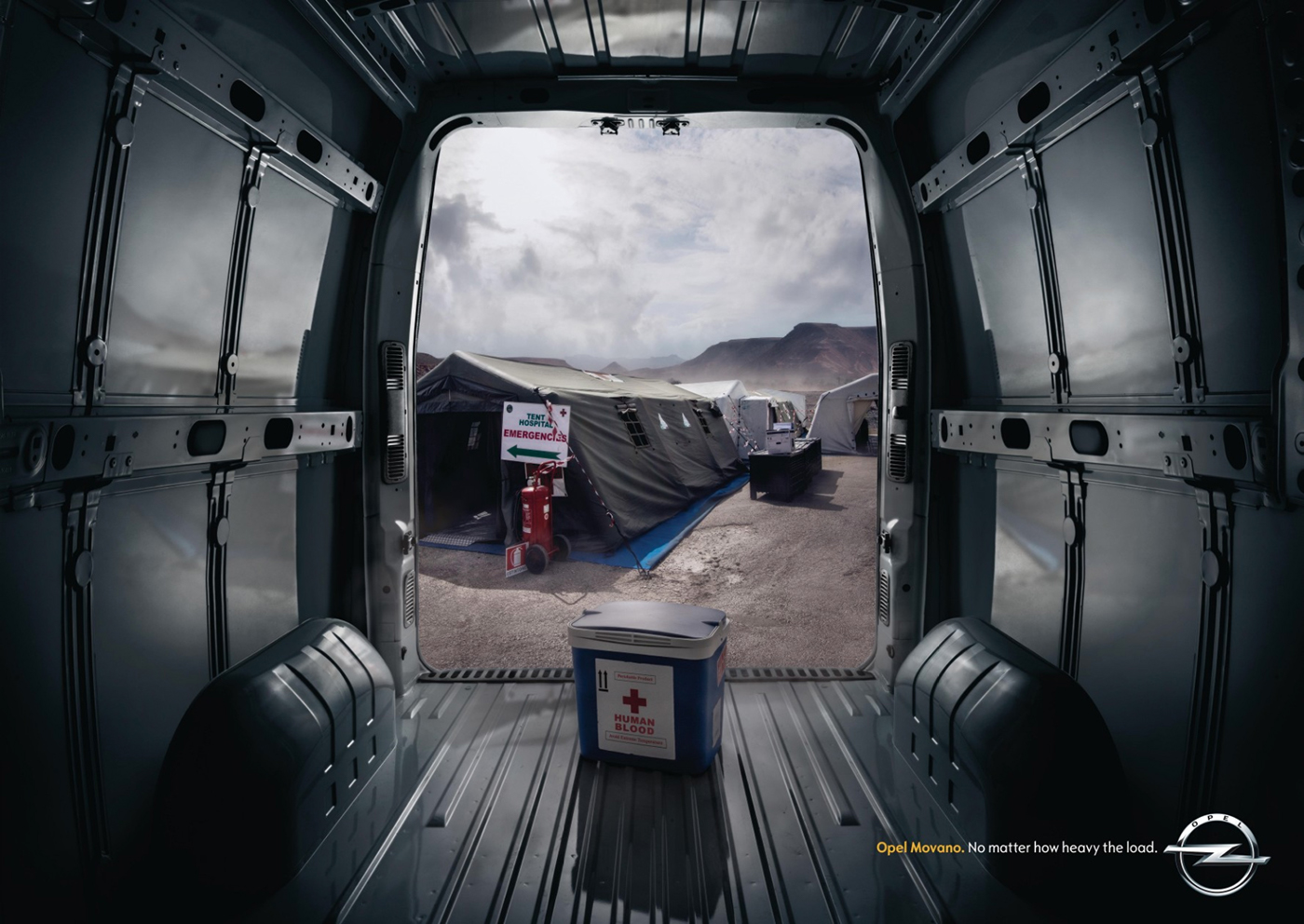 Creative art direction & post production ads - Opel