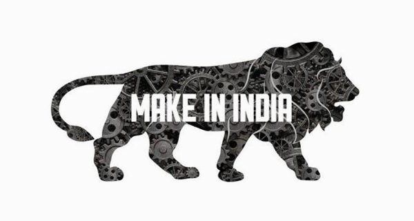 Creative Lion Logo Design - Make In India