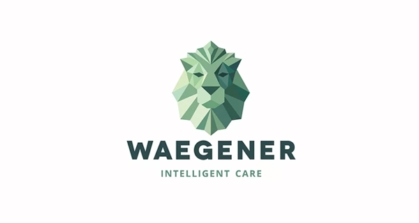 Creative Lion Logo Design - Waegener