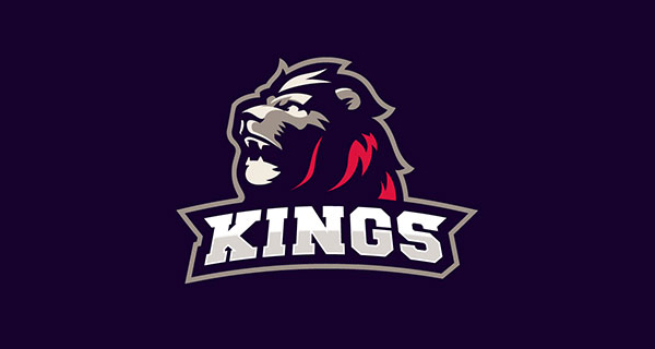Creative Lion Logo Design - Oslo Kings