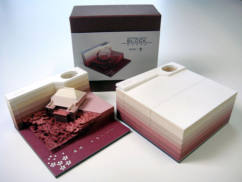 Omoshiroi Block: Paper memo pad that reveals hidden objects - 5