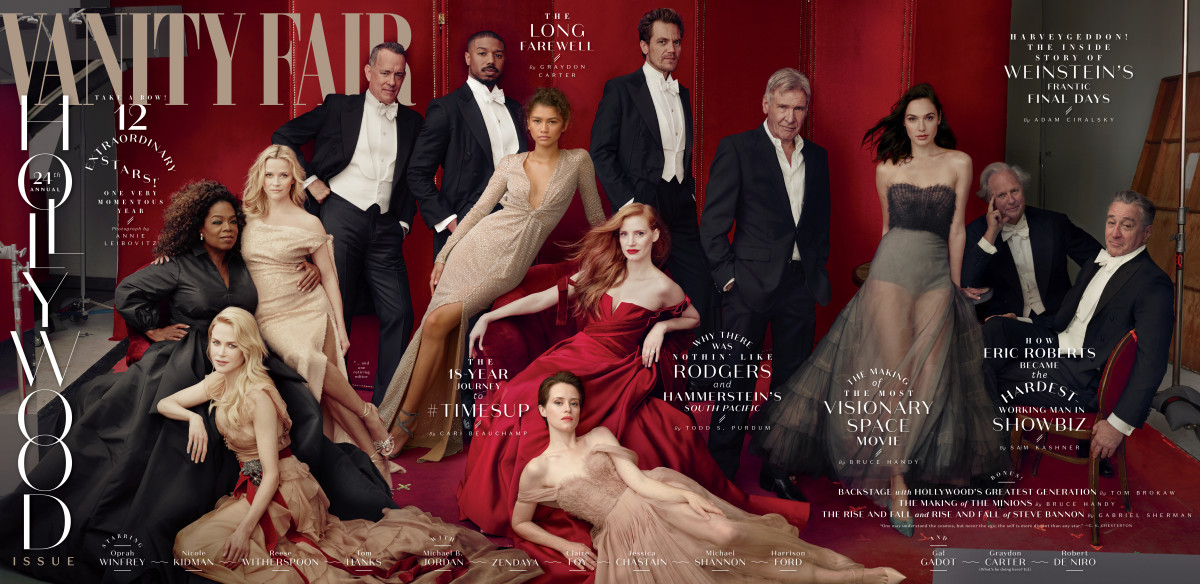 Vanity Fair 2018 Hollywood Portfolio Issue