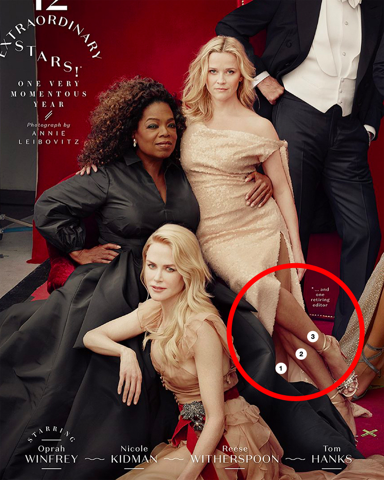 Vanity Fair: Reese Witherspoon, Oprah Winfrey Photoshop Fail - 2