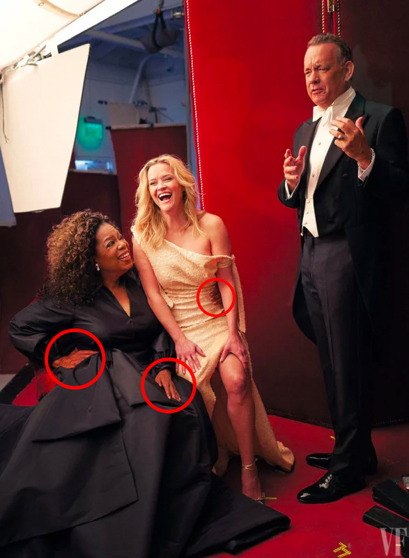 Vanity Fair: Reese Witherspoon, Oprah Winfrey Photoshop Fail - 4