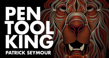 'Pen Tool King' Patrick Seymour Shares The Creative Process Behind His Amazing Line Art