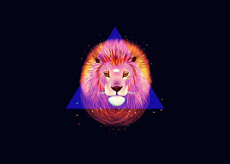 Vibrant, Dream-Like Illustrations Made With Gradients And Blend Modes - 21