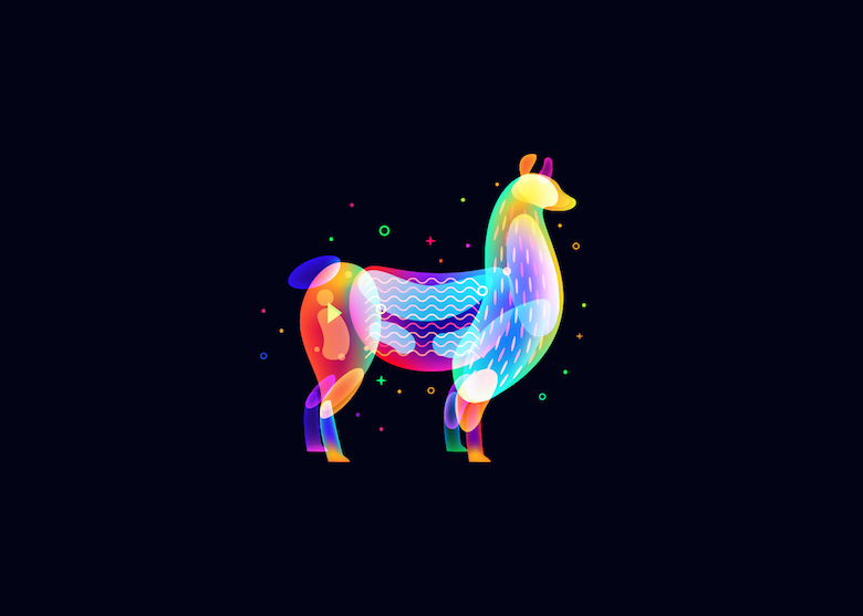 Vibrant, Dream-Like Illustrations Made With Gradients And Blend Modes - 22