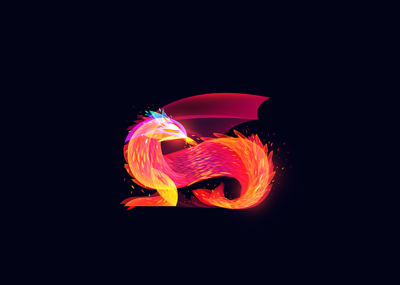 Vibrant, Dream-Like Illustrations Made With Gradients And Blend Modes - 23