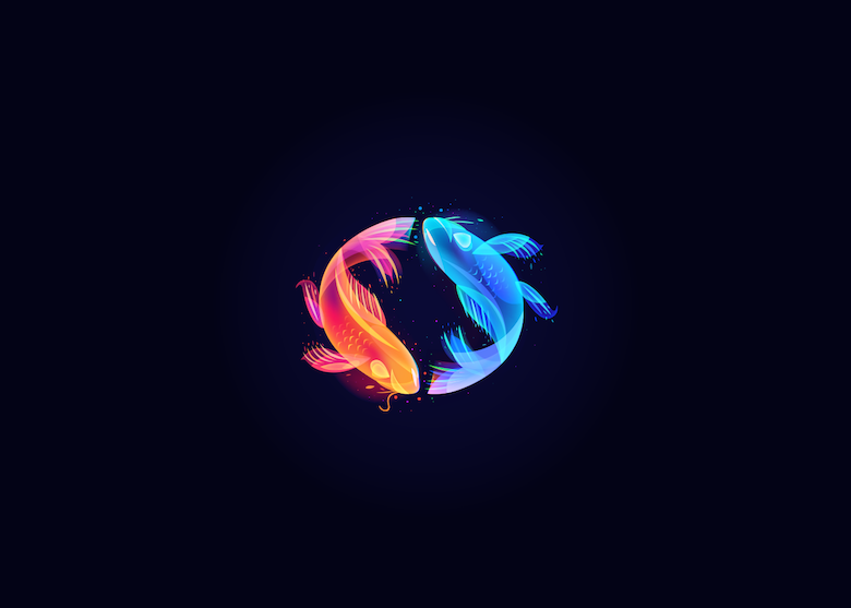 Vibrant, Dream-Like Illustrations Made With Gradients And Blend Modes - 27
