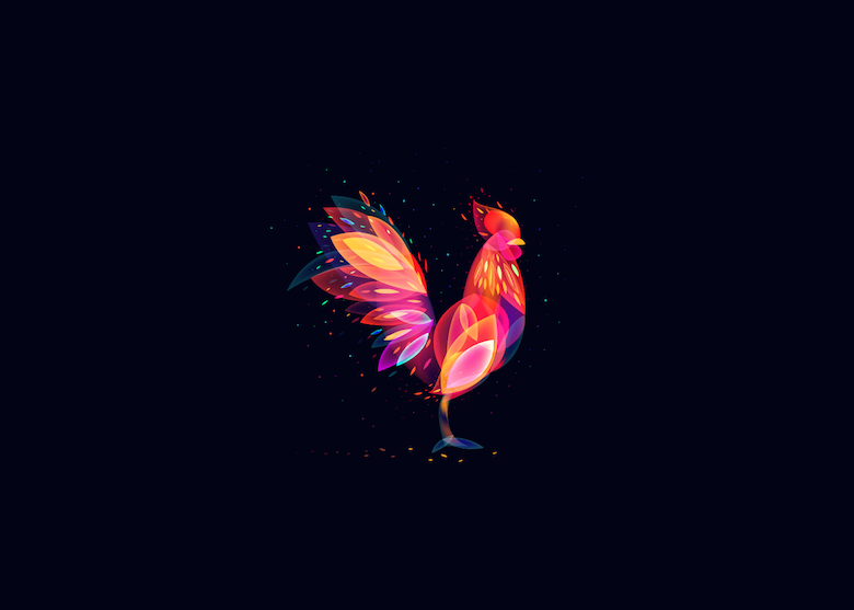 Vibrant, Dream-Like Illustrations Made With Gradients And Blend Modes - 28
