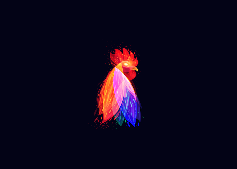Vibrant, Dream-Like Illustrations Made With Gradients And Blend Modes - 29
