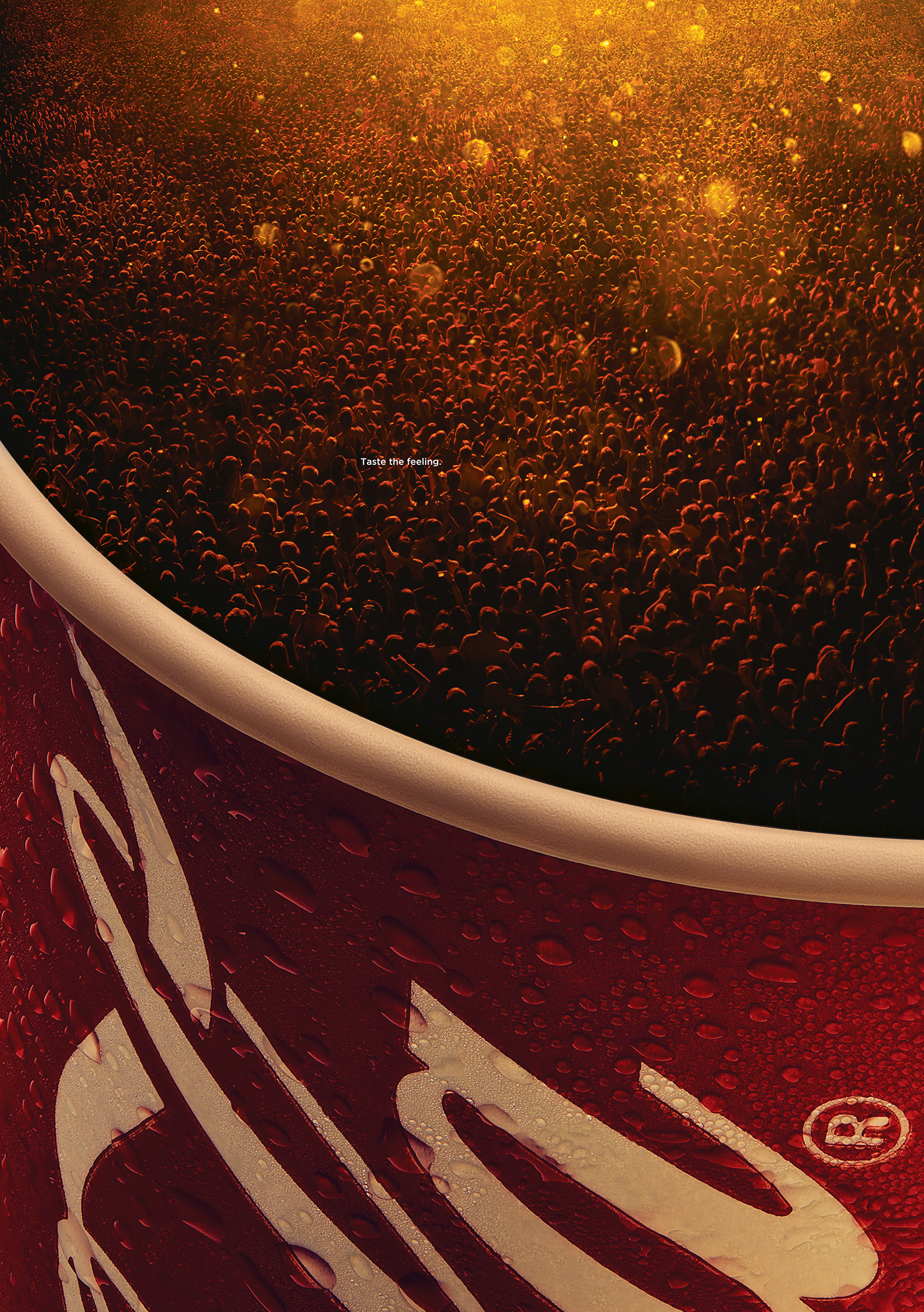 Coca-Cola Bubbles: Taste the feeling - 1