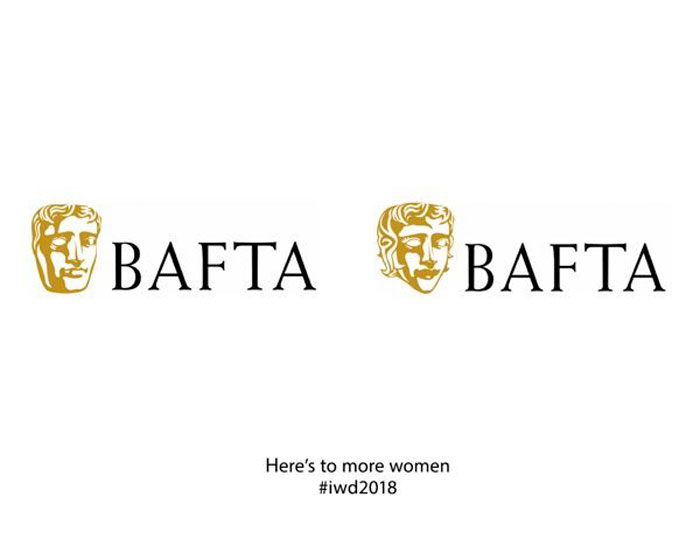 Female brand logos for Women's Day - BAFTA