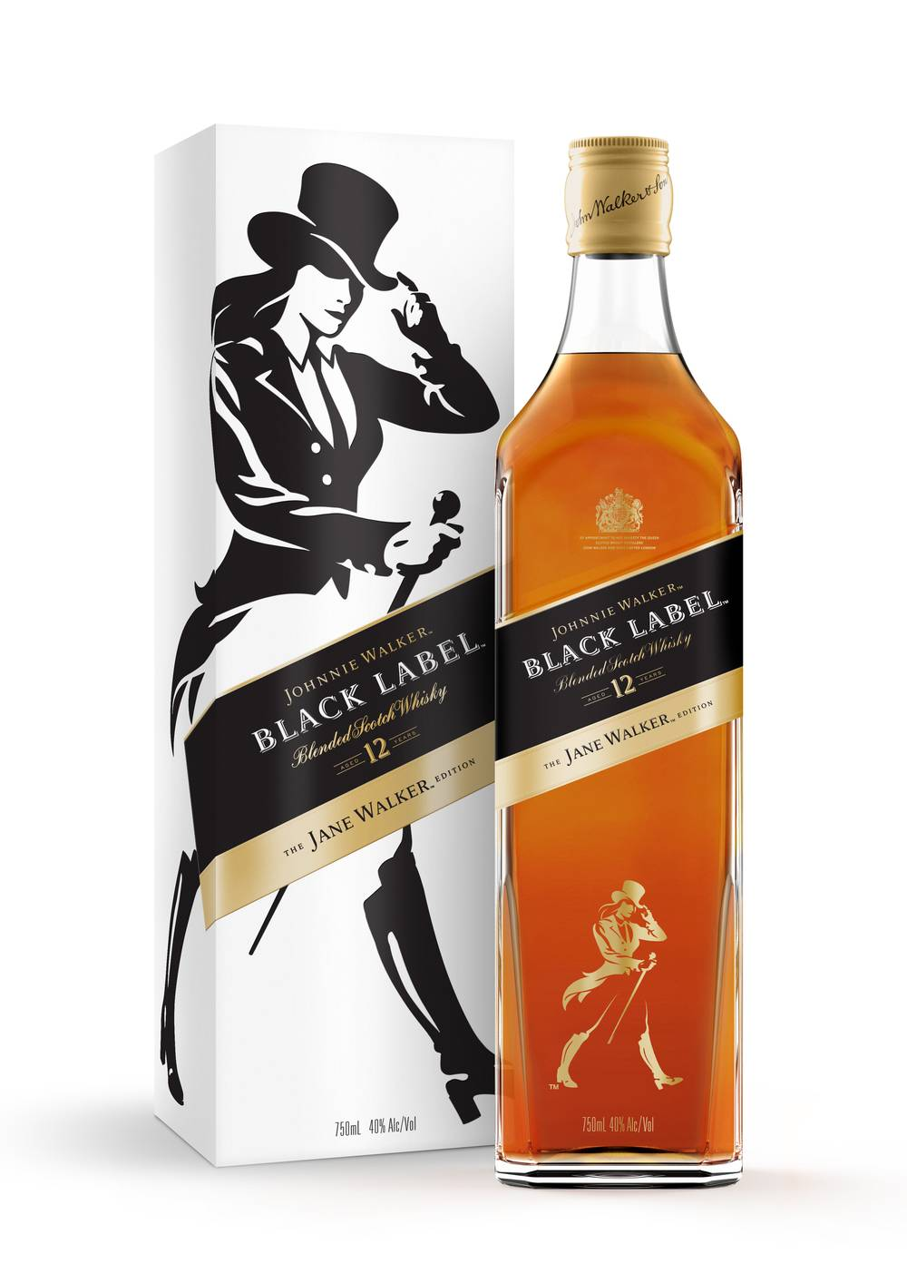 Female brand logos for Women's Day - Johnnie Walker