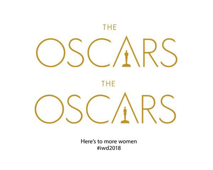 Female brand logos for Women's Day - Oscars
