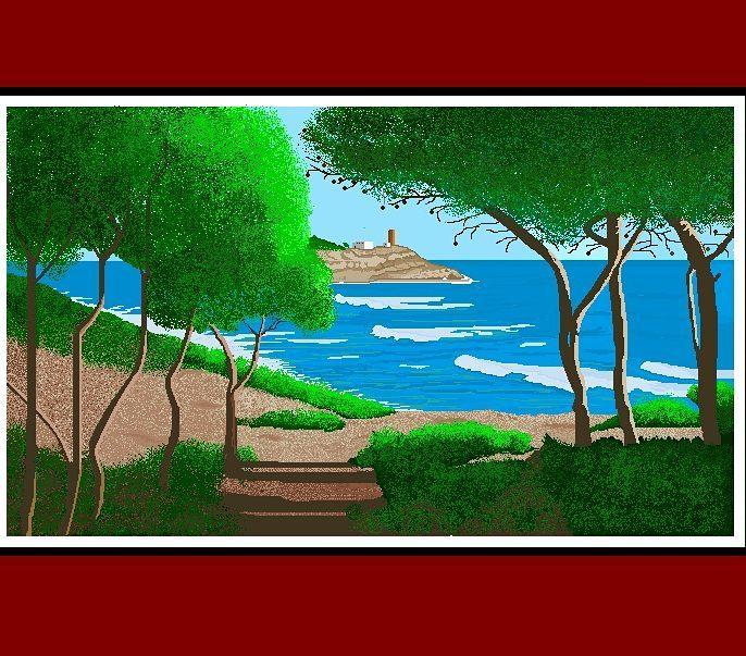Grandma creates beautiful artwork in MS Paint - 3