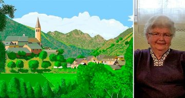 87-Year-Old Grandma Creates Stunning Artwork In Microsoft Paint