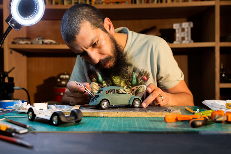 Volkswagen Beetle: Miniature Scale Model Photography by Felix Hernandez - 6