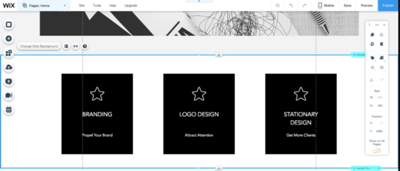Wix Logo Maker Features