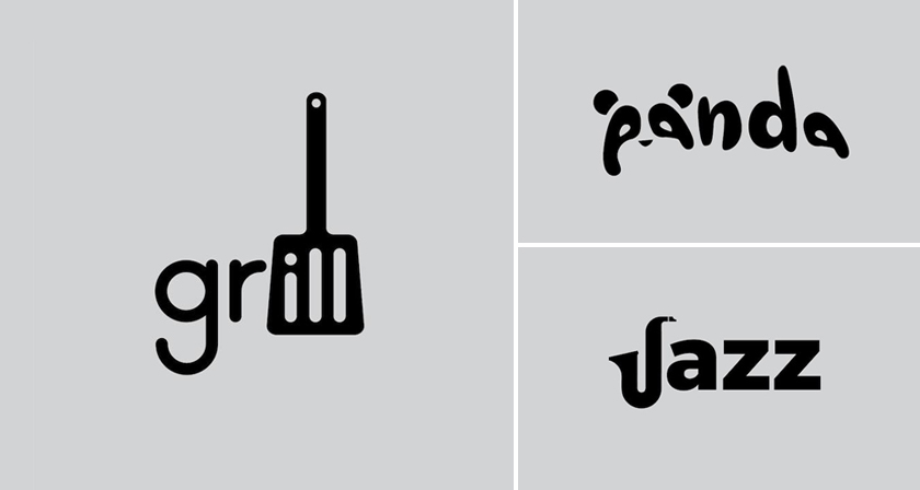words graphic design