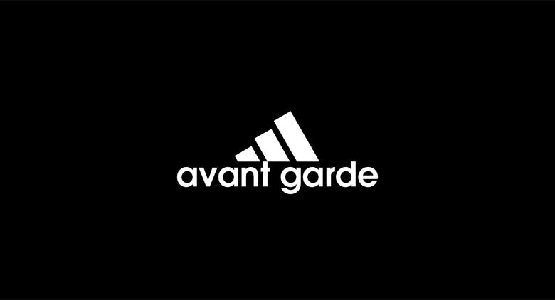 Adidas logo font - Avant Garde
