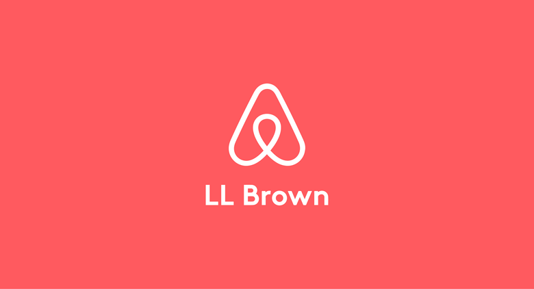Airbnb logo font - LL Brown