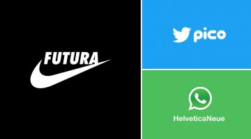 Graphic Designer Substitutes Wordmarks In Famous Logos With The Fonts They Use