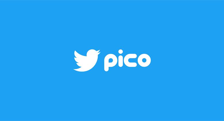 Twitter logo font - Pico