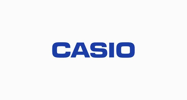 Casio logo font - Eurostile Ext Black