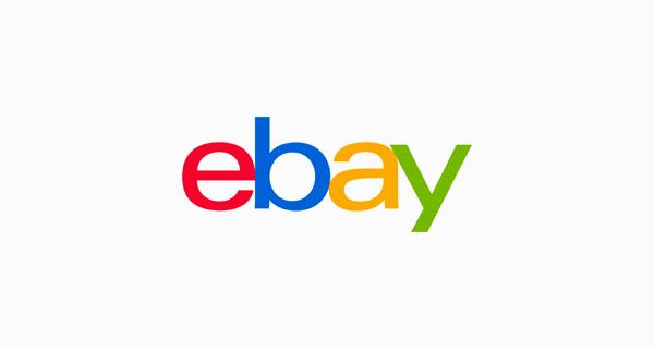 eBay logo font - Univers 53 Extended