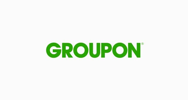 Groupon logo font - Avant Garde Gothic Bold
