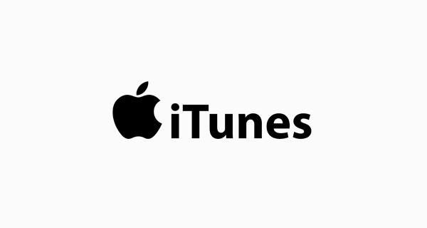 iTunes logo font - Myriad Bold