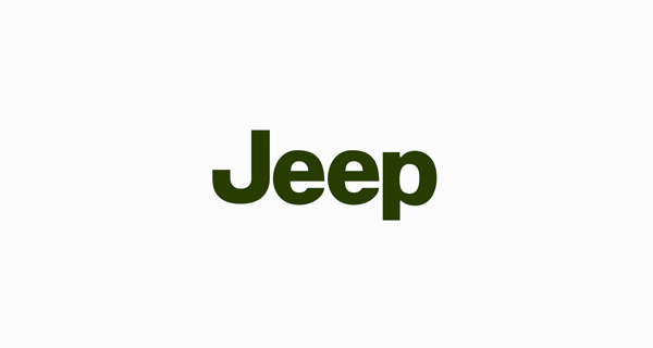 Jeep logo font - Helvetica Bold