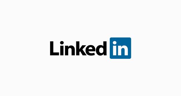 LinkedIn logo font - Myriad Bold
