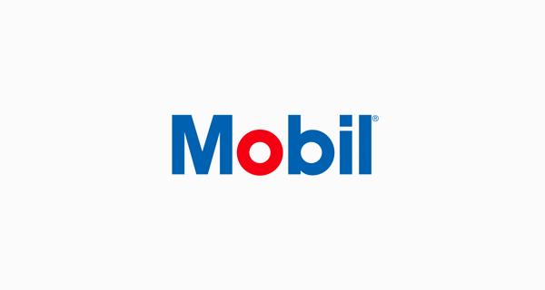 Mobil logo font - Avant Garde Gothic Bold