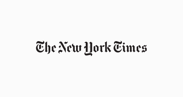 The New York Times logo font - English Towne